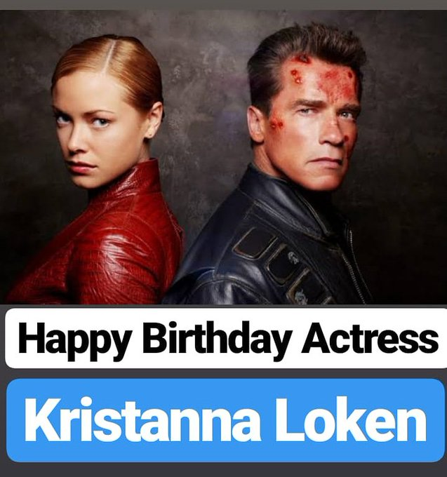 HAPPY BIRTHDAY  Kristanna Loken