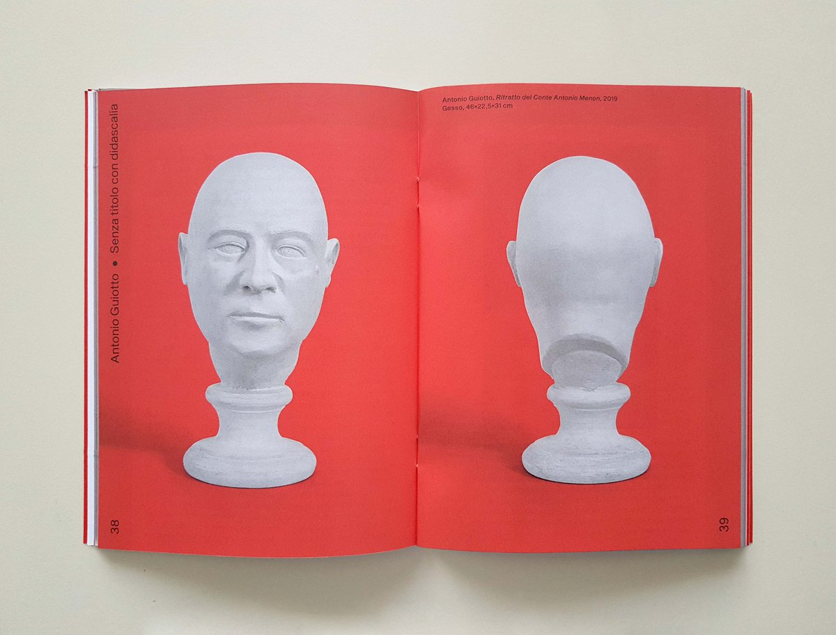 Don't miss the catalogue of the show of @antoniogui8 #SenzaTitoloConDidascalia  at @MuseiBassano. The publication is designed by #MultiploStudio and features texts by #DanieleCapra and @ChiaraCasarin. #ContemporaryArt #ArtCatalogue