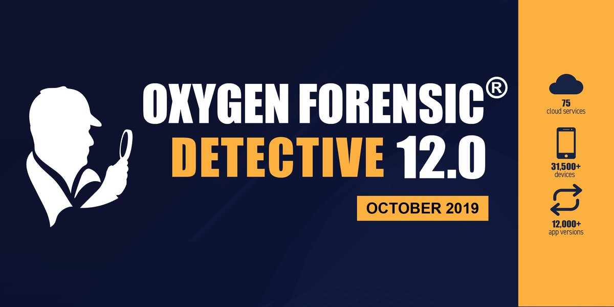 Oxygen Forensics Pa Twitter Oxygen Forensic Detective 12 0 Is Here With The Redesigned Interface Unprecedented Speed Advanced Analytics And Enhanced Mobile Cloud And Computer Modules Read Our Release Notes Here Https T Co 7itmt6ftks Https T