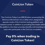 Image for the Tweet beginning: Did you know CoinLion offers