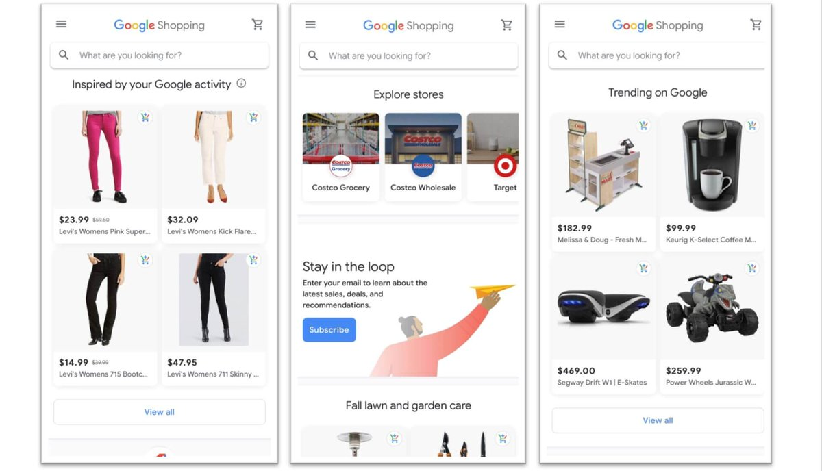 "Google's new take on Shopping goes live in U.S.  Google Shopping offers personalized recommendations. ""Buy on Google"" http://bit.ly/2p2FtRB  via @sengineland #google #googleShopping #ecommerce #ecommerceSuccess #BuyOnGoogle #GoogleAds"