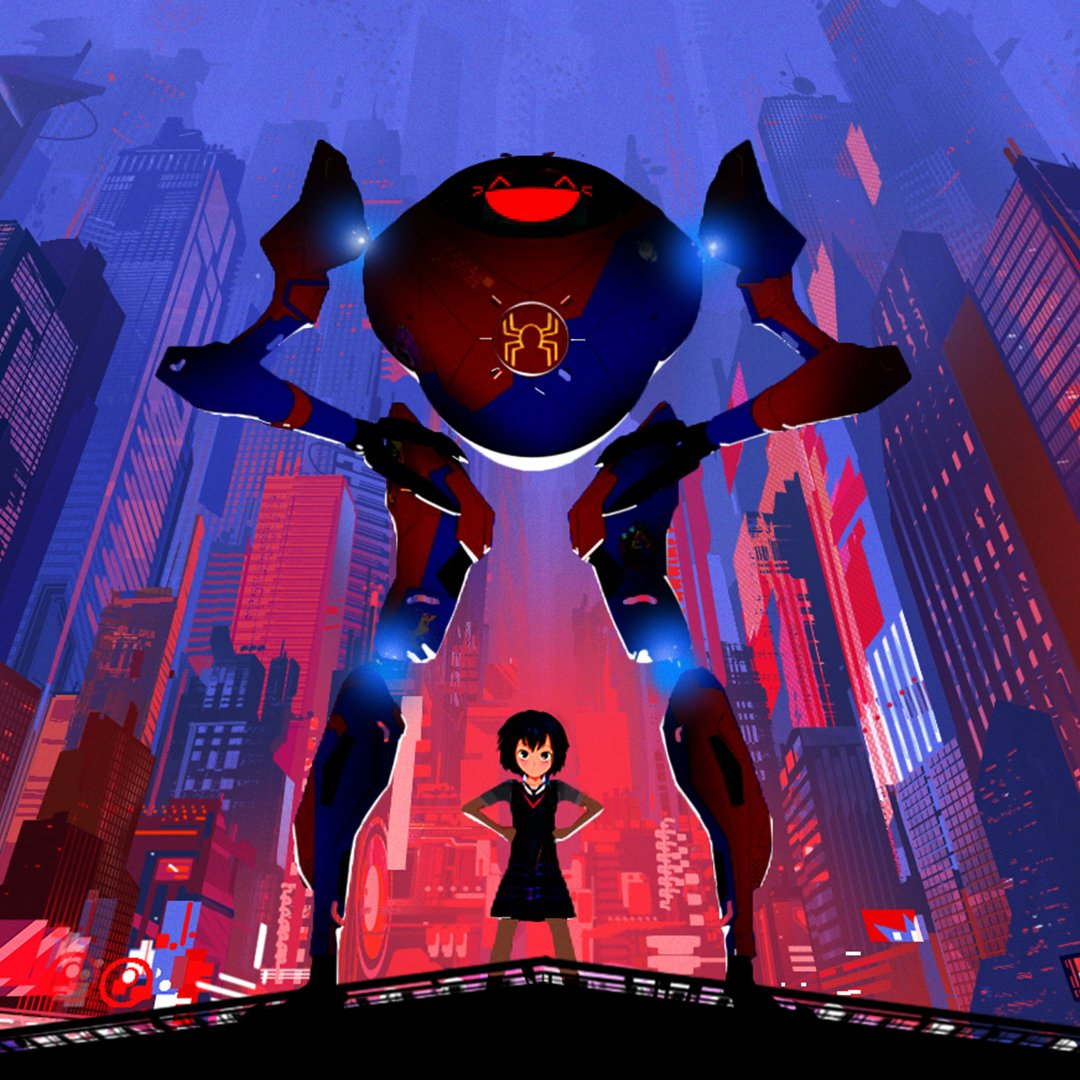 My name is Peni Parker. Im from New York in the year 3145. I have a psychic link with a spider who lives inside my fathers robot... And were best friends - forever.