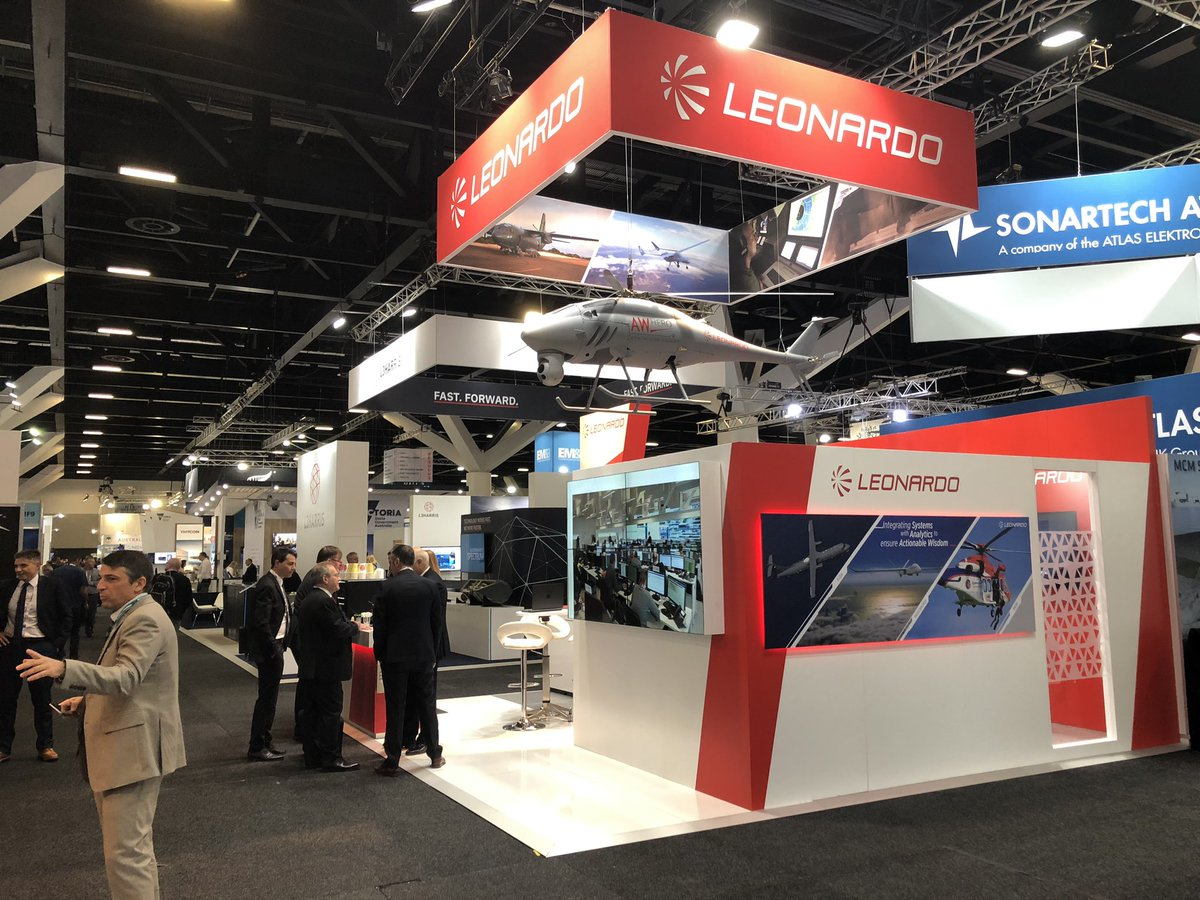 It's day 2 of @Pacific2019Expo! Come and visit us at stand 2P11 and visit our website lnrdo.co/Australia to learn more about our presenze in 🇦🇺 #LeonardoInAustralia