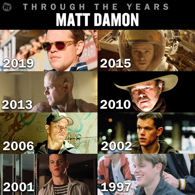 Happy birthday to the talented Matt Damon - which of his films is your favorite?