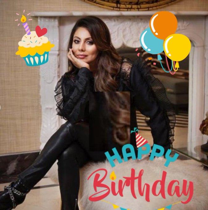 happy birthday your wife Gauri khan