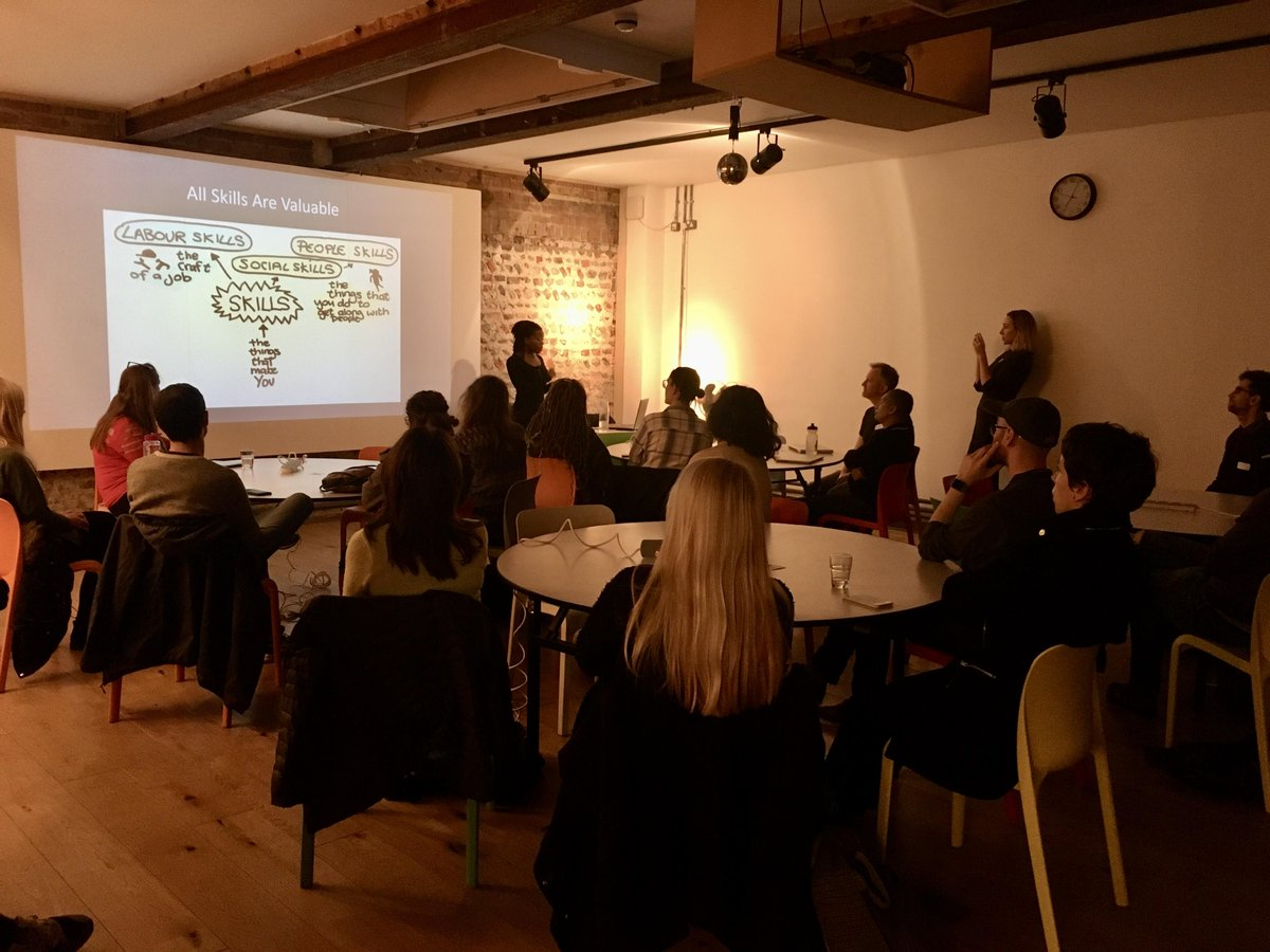 Great talk by @Shiiinobee at Codebar Brighton! (You should hire her!) adactio.com/notes/15945