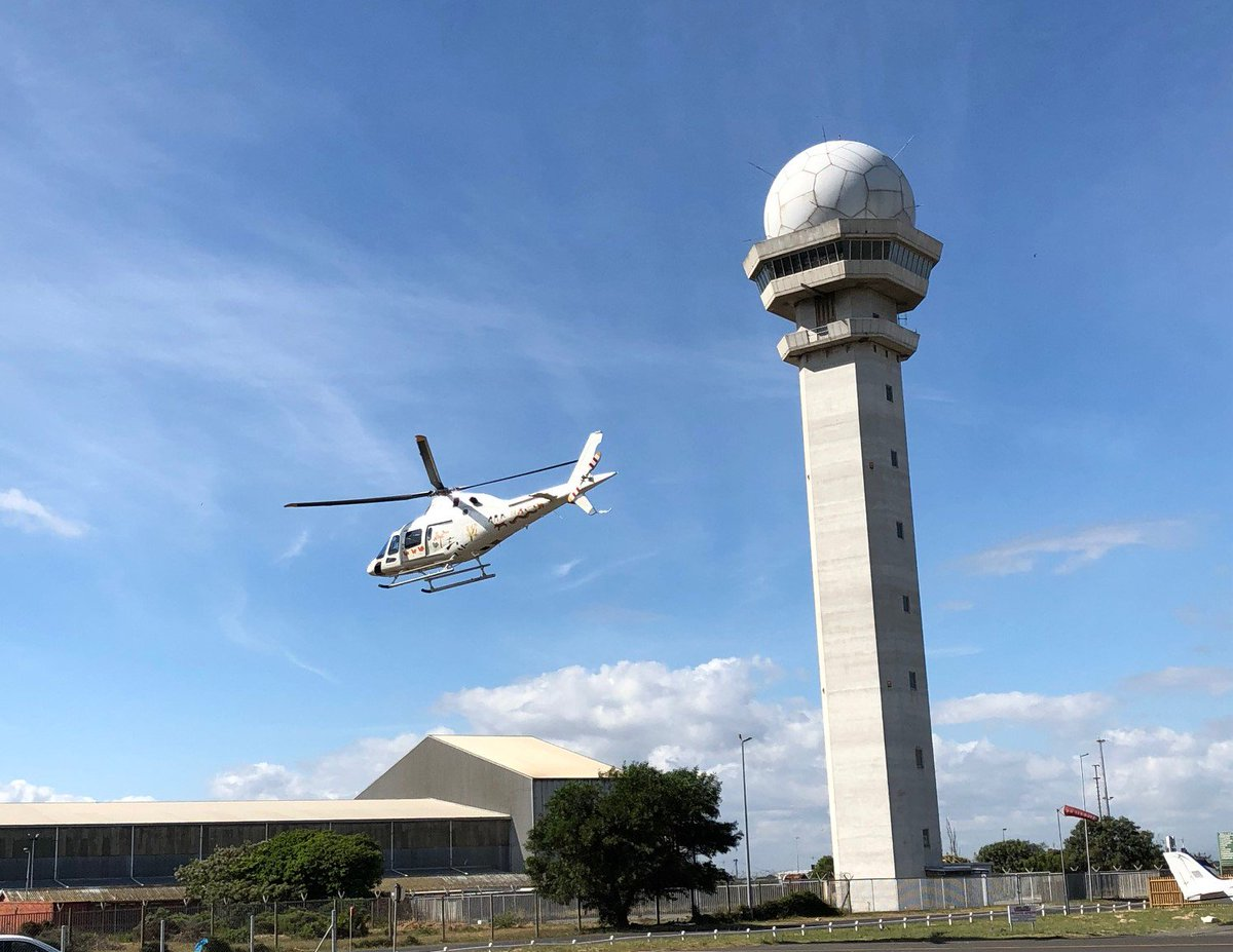 On Day 7 of the #AW119Kxs Demo Tour in #SouthAfrica we stopped in #CapeTown! We were pleased by how our guests greatly appreciated the #helicopters speed and controllability in windy conditions, a typical weather scenario here in this geographic area.