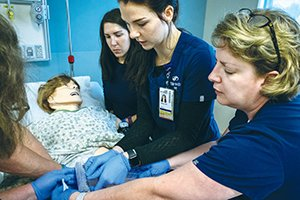 .@SSMHealth simulation center prepares clinicians for the unexpected and the routine (In an environment where it's safe to make mistakes, staff build competency, sharpen critical thinking skills) http://ow.ly/Z53e50wFW08  #CatholicHealth @SSMHealthSTL