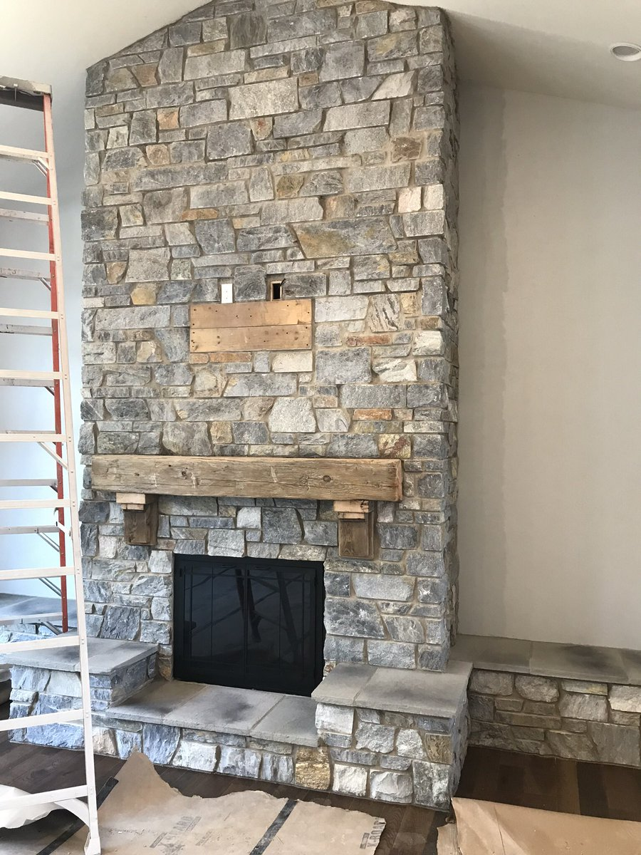 Kafka Granite On Twitter Why Have One Kafka Thin Stone Veneer Fireplace When You Can Have Two Bonus Points For Matching Rangehood