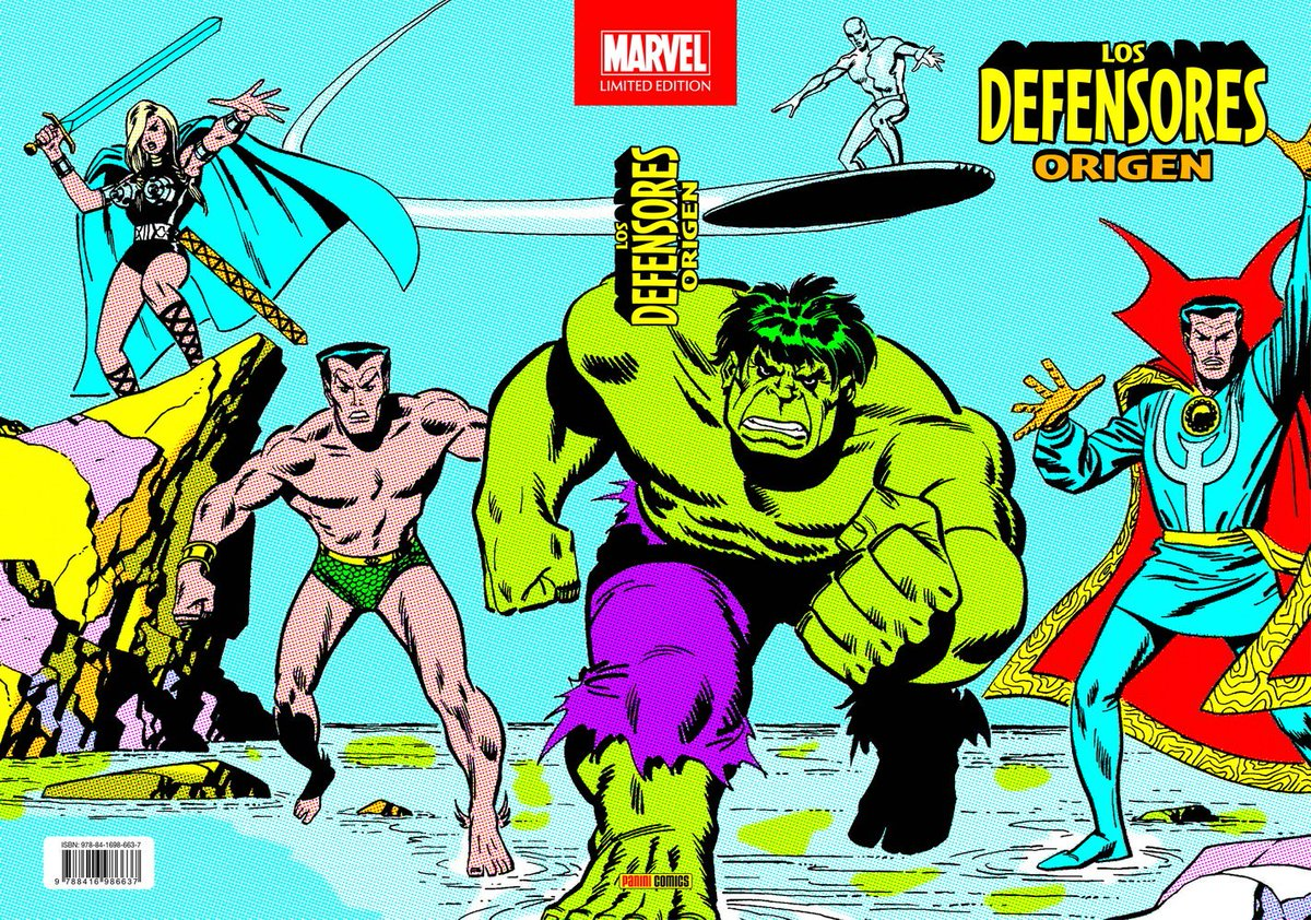 El 12 de diciembre de 2019, como parte de la línea editorial creada por Panini y SD, se publicará el tomo Marvel Limited Edition. Los Defensores: Origen. A continuación os dejamos con su correspondiente ficha:  https://www.universomarvel.com/marvel-limited-edition-los-defensores-origen/…