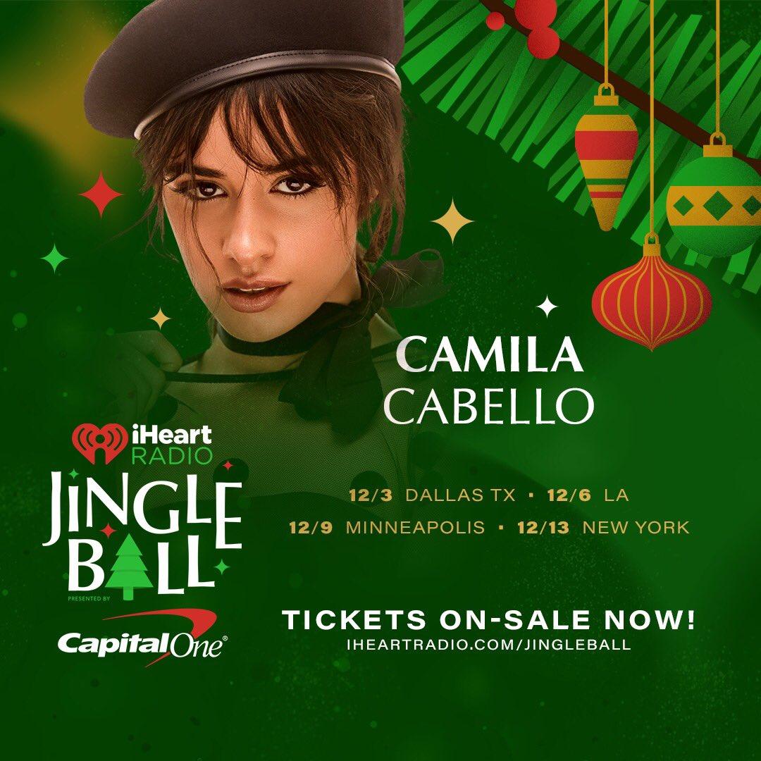 guys the #iHeartJingleBall pre-sale is happening now !! iHeartRadio.com/JingleBall all tickets go on sale this friday 🎄⛄️🎅🏼🤶🏼 @iHeartRadio