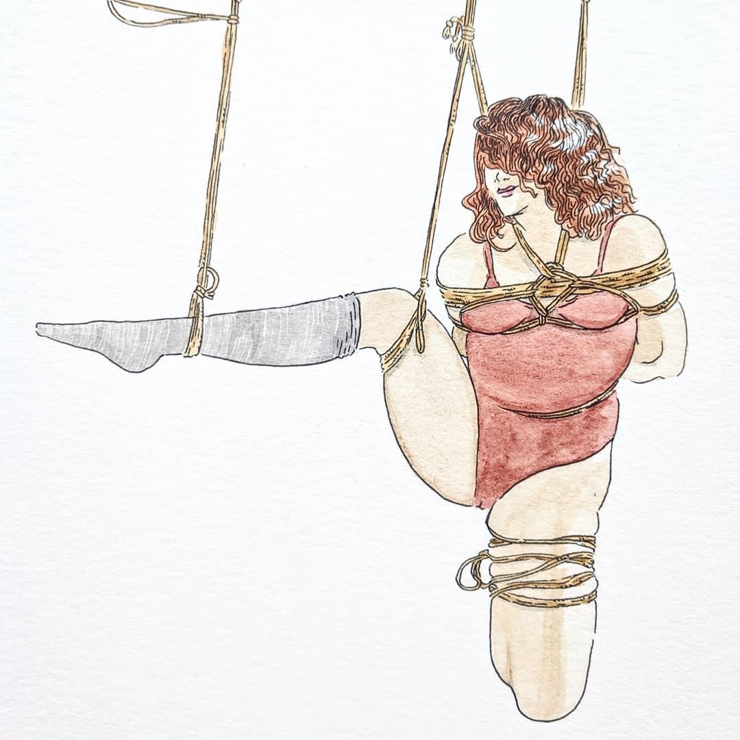 Wardog bondage art