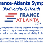 Have you registered for the France-Atlanta Biodiversity Symposium at Emory on 10/17? This exciting event brings together leaders in the scientific study of human and planetary health! Free and open to the public! Reserve your spot today! Please share!  https://t.co/JEMPEypIvO