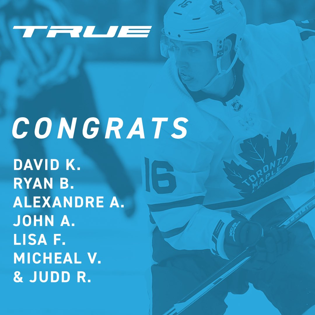Huge congrats to these lucky winners who will be meeting the Magician, @Marner93, later this month! #TeamTRUE #PlayTRUE #Hockey #playhockey