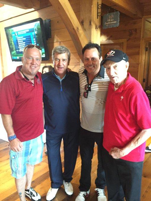 Happy birthday to my very good friend Walter Gretzky! Canada s Hockey Dad!