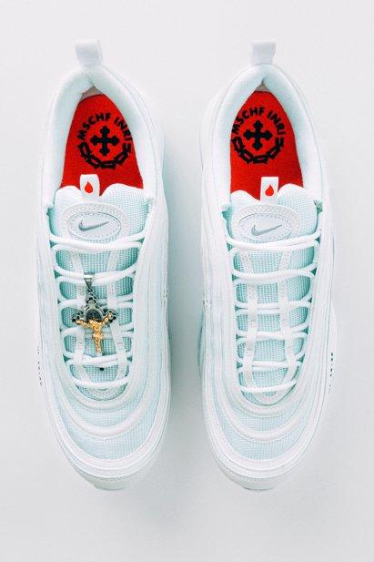 Air Max 97 MSCHF x INRI Jesus Shoes