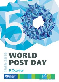 The @UPU_UN is the 2nd oldest international organization in the 🌎 and works for global cooperation between postal sectors worldwide. Wednesday is #WorldPostDay. bit.ly/2LVrmqi