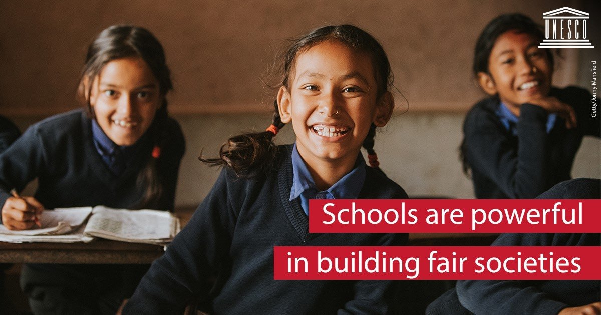 Education helps empower students to push for fair, inclusive & transparent societies. @UNESCO & @UNODC are working together to make classrooms foundations for democracy. on.unesco.org/2oQOddk