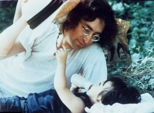 Happy birthday John Lennon Happy birthday Sean Lennon
