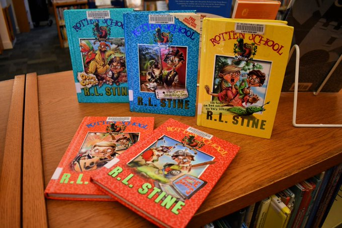 Happy 76th birthday to R.L. Stine! Do you have a favorite scary R.L. Stine story?