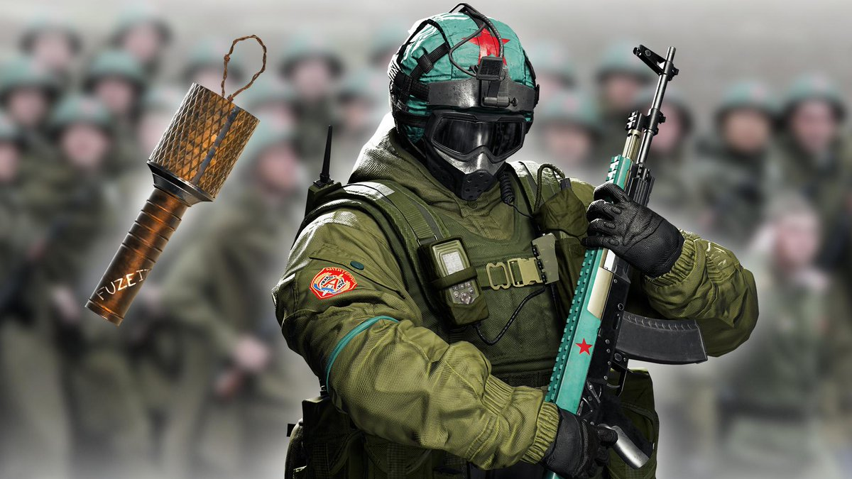 Rainbow Six Siege On Twitter Push The Objective With Fuze S