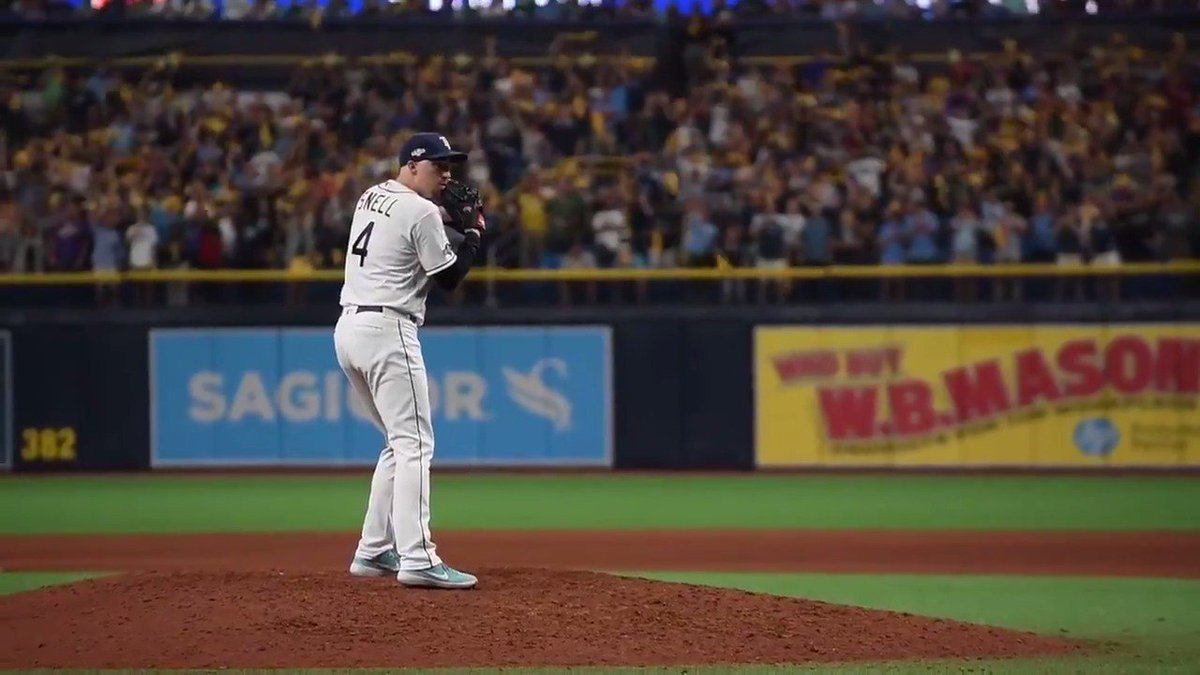 Blake Snell to close it out? Blake Snell to close it out. #ALDS