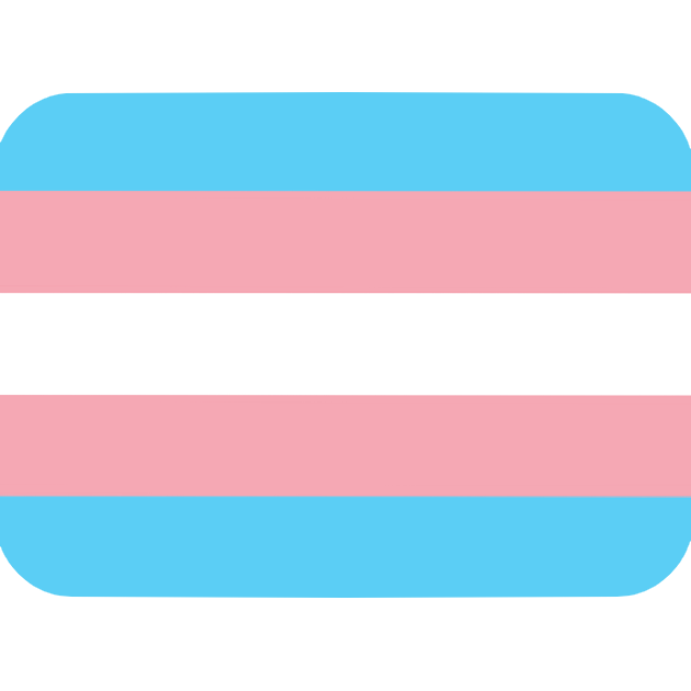 Discord On Twitter The Trans Flag Isn T In Unicode Yet So We Don T Support It By Default But Here S A Perfectly Sized And Formatted Trans Flag Emoji That You Can Upload To