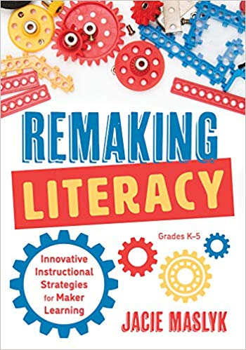 And this AMAZING title from @DrJacieMaslyk amzn.to/2ATFrhN #makered