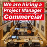 Image for the Tweet beginning: We are hiring a Commercial