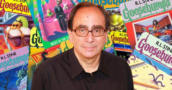 Happy 76th Birthday to R.L. Stine! The author of the Goosebumps books.