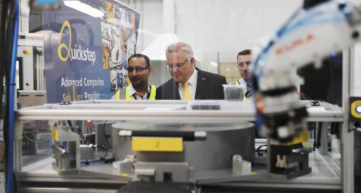 Our government is investing $200 billion into rebuilding our defence force capability to keep Australians safe. Part of that investment is in the Joint Strike Fighter program, which will involve 50+ Australian companies in its supply chain and support over 5,000 Australian jobs.
