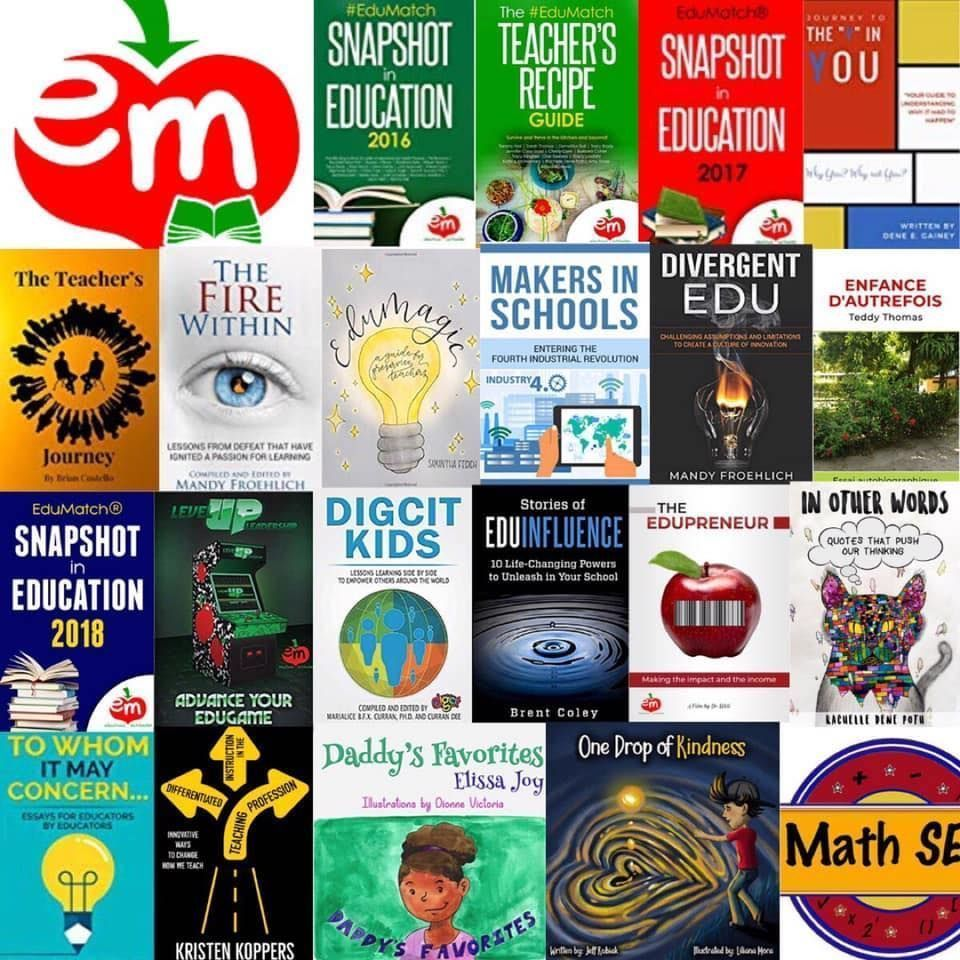 We've added a few new @EdumatchBooks to our catalog! Which one are you going to read next? buff.ly/2ZHIOWT
