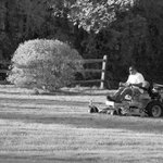 Image for the Tweet beginning: Warren CT, lawn mower: day