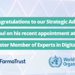 Image for the Tweet beginning: Congratulations to our Strategic Advisor