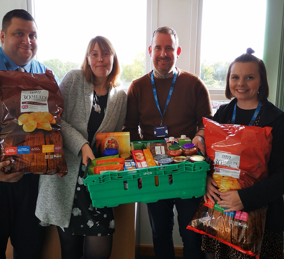 We're supporting #WorldFoodDay by focusing on the help we can offer close to home. Local foodbanks provide support to some of our tenants and we want to give something back. Today we bulked-up our colleague collection with a donation from the Group. #HPGProud