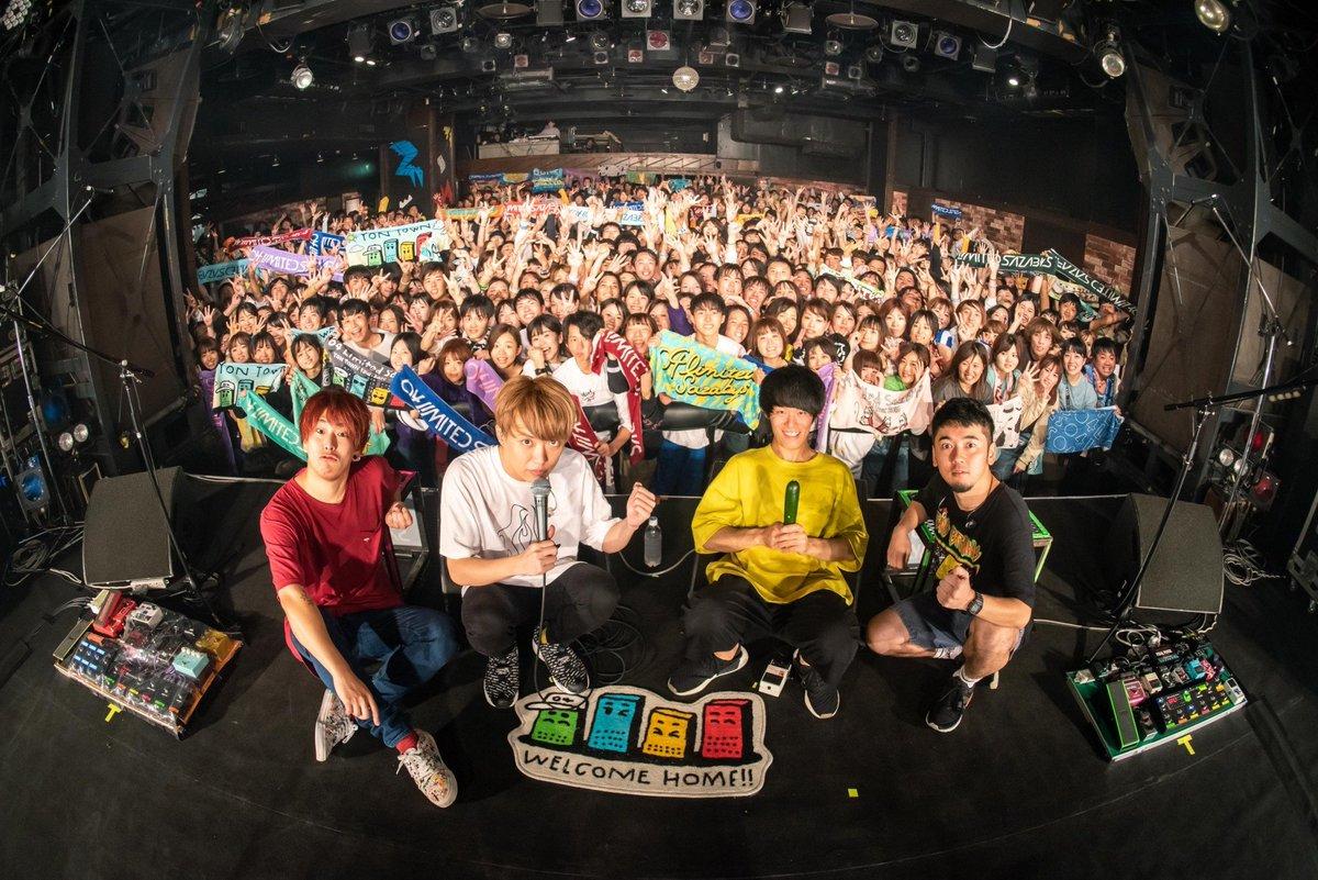 「YON TOWN tour 2019~町内GIG~」二日目、名古屋CLUB QUATTRO公演終了じゃっ!楽しんでもらえたかの?またライブハウスで待っとるぞい!#町内GIG