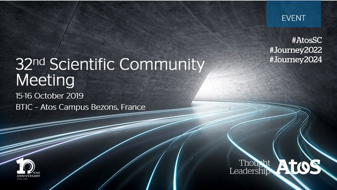 The @Atos Scientific Community is meeting today and tomorrow at @AtosBTIC in Bezons. In...