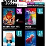 Image for the Tweet beginning: Vuelve el 'Cine en familia'