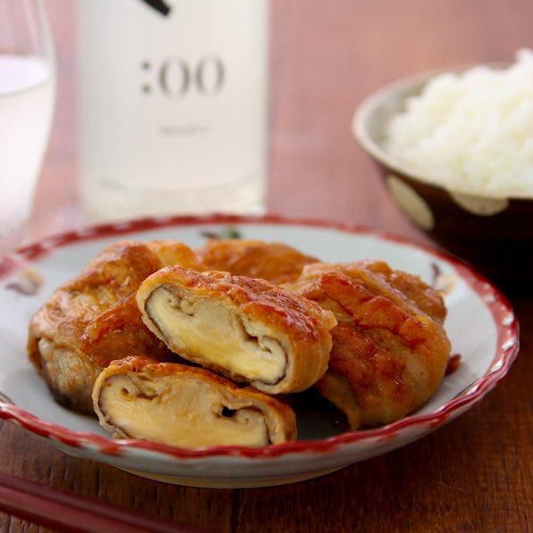 【椎茸の豚バラバター巻き】これ椎茸の一番おいしい食べ方なのでは…