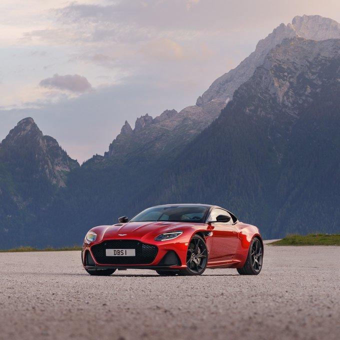 DBS Superleggera's power and beauty…