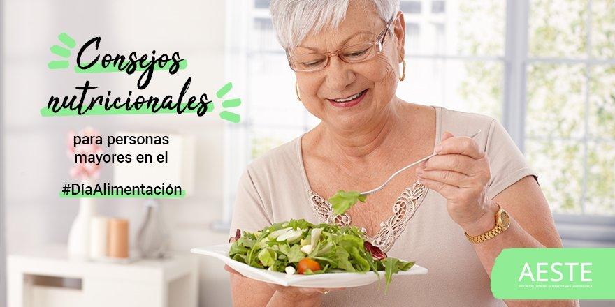 test Twitter Media - 🥗¡Sigue los consejos nutricionales para #PersonasMayores en el #DíaAlimentación!  ❌Grasas saturadas. ✅Grasas con ácidos esenciales omega-3 y omega-6. ❌Sal y azúcar. ✅Grasas vegetales. ❌Grasas de lacteos y derivados. ✅Vitaminas, minerales y fibra. https://t.co/GWOMXn17Lw