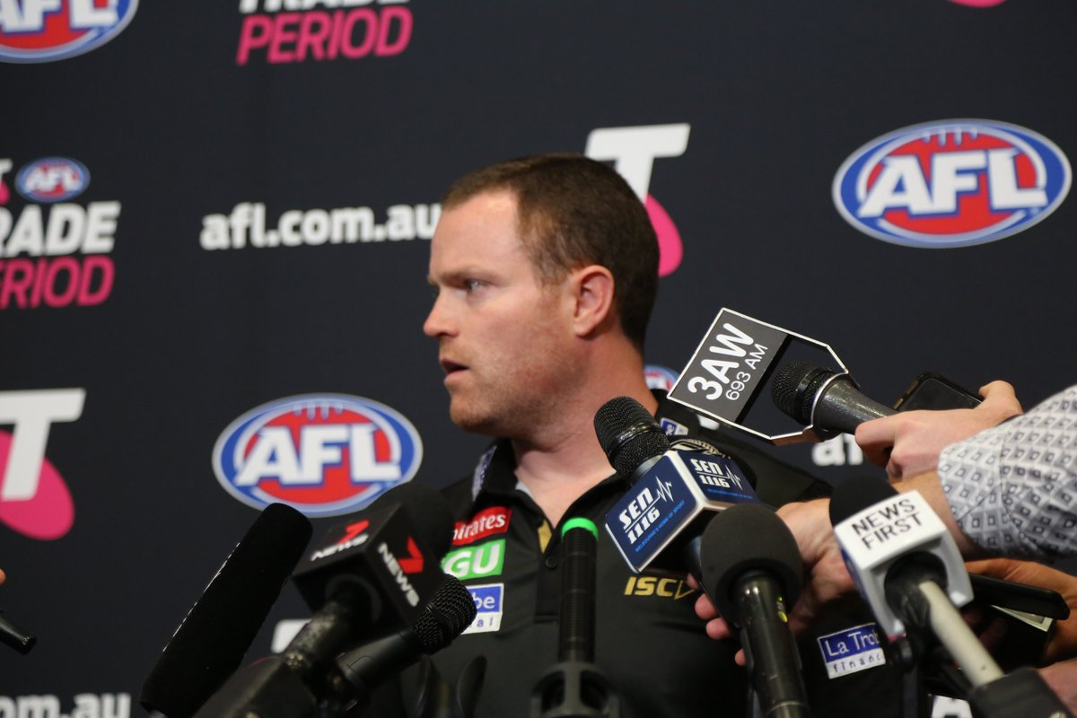 Image for the Tweet beginning: Hear from @CollingwoodFC List Manager,