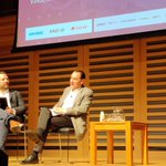 #NVF19 @Captify chairman Tom Rogers takes to the stage with @vinnyflood. Looking forward to this session... Particularly the TiVo chat as I used to love my imported TiVo box!