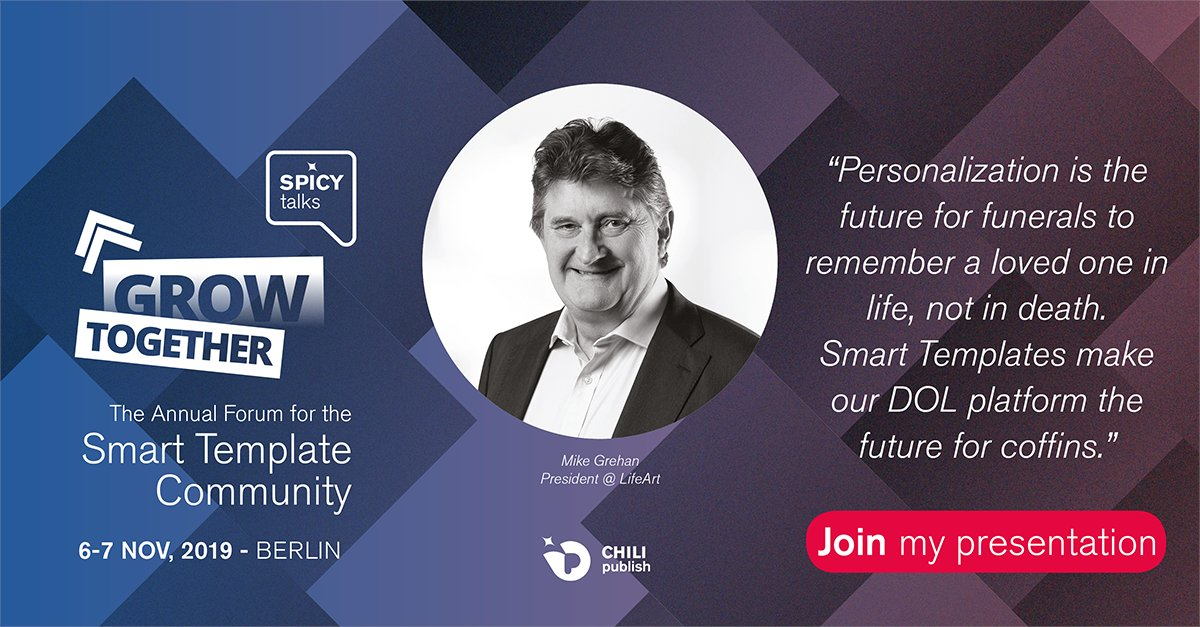 LifeArt International Executive Chairman Mike Grehan to talk at major online publishing event in Berlin this week. #SPICYtalks19