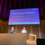 Wealth of knowledge on the streaming space playing out here...in conversation with Tom Rogers, Chairman of @Captify at New Video Frontiers #NVF19