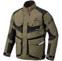 RSタイチの全天候型アドベンチャージャケット!雨天走行時を快適にする防水透湿性を備え、胸と背中の大型ベンチレーションで、内部を温度調節。防寒インナージャケットは、単体でも使用可能。肩・肘・背中プロテクターを標準装備、胸プロテクターも装着できる〜‼️😆