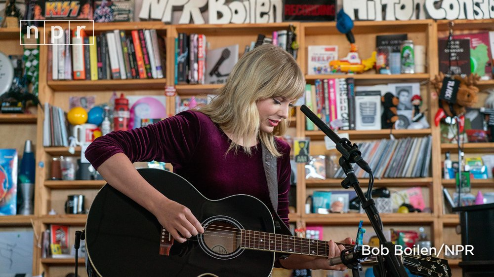 Watch Taylor Swift's Tiny Desk concert now: n.pr/2IVx09R