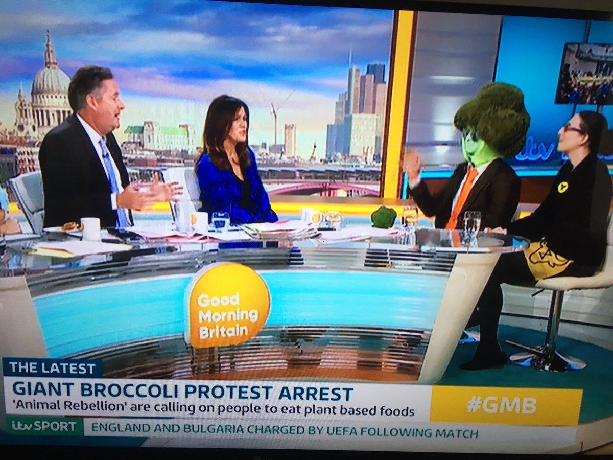 Desperate attention seeking vegetable interviews Mr Broccoli