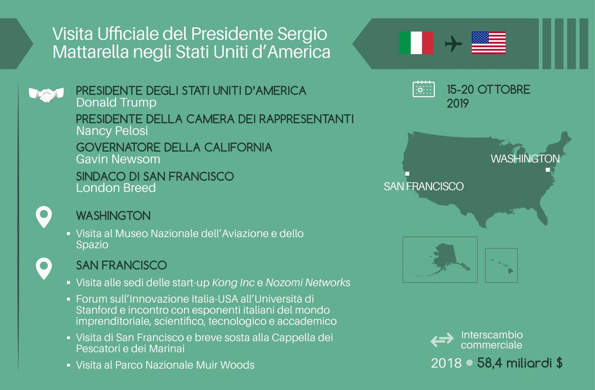 "Spazio Italiano San Francisco italy in us on twitter: ""the visit of president #mattarella"