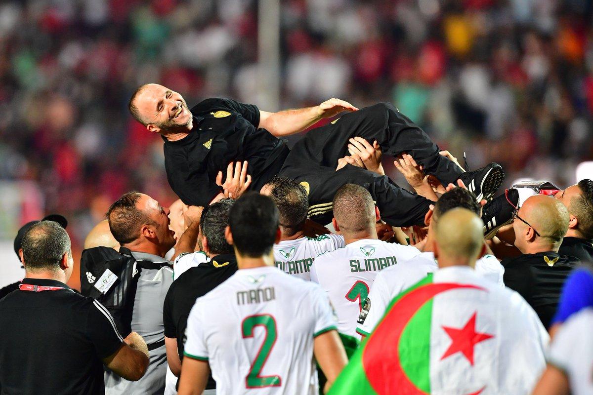 17 - L'Algérie 🇩🇿 est invaincue lors de ses 17 derniers matches toutes compétitions confondues (12 victoires, 5 nuls), la meilleure série de son histoire. Belmadi.